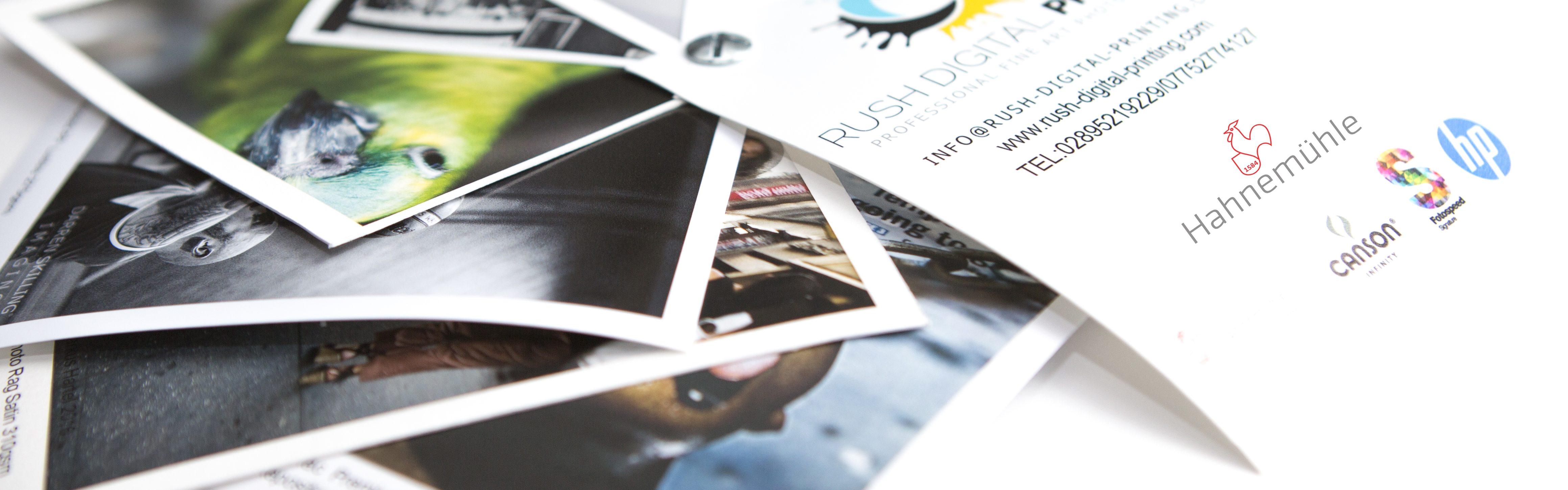 Paper Types – Rush Digital Print